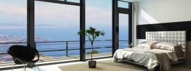 Absolutely 'to die for' Views From Modern Master Bedroom
