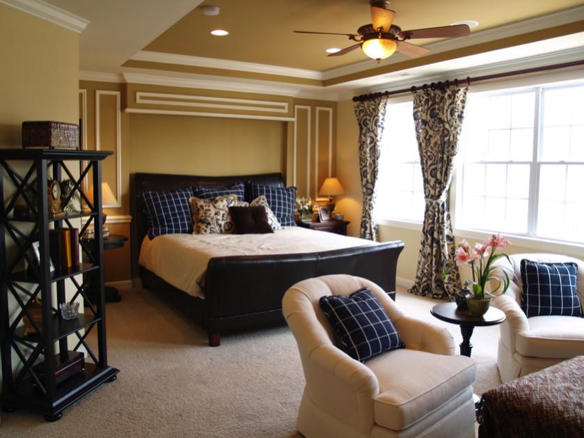 Black and blue master bedroom - Modern Master Bedroom Interior Design Ideas For Inspiration