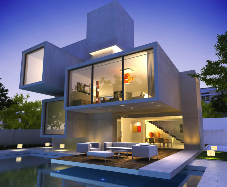 Bunker house m 800x650 e1428792842770 - Large Modern Architectural Contemporary Homes to Die For