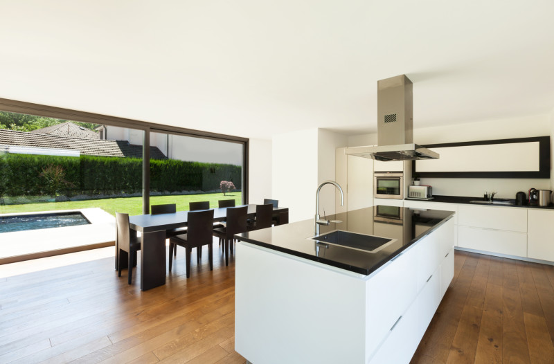 custom bespoke kitchen designs with islands