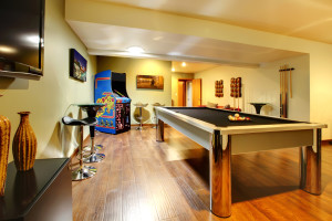 Home Basements and Get Away From It All Room Ideas