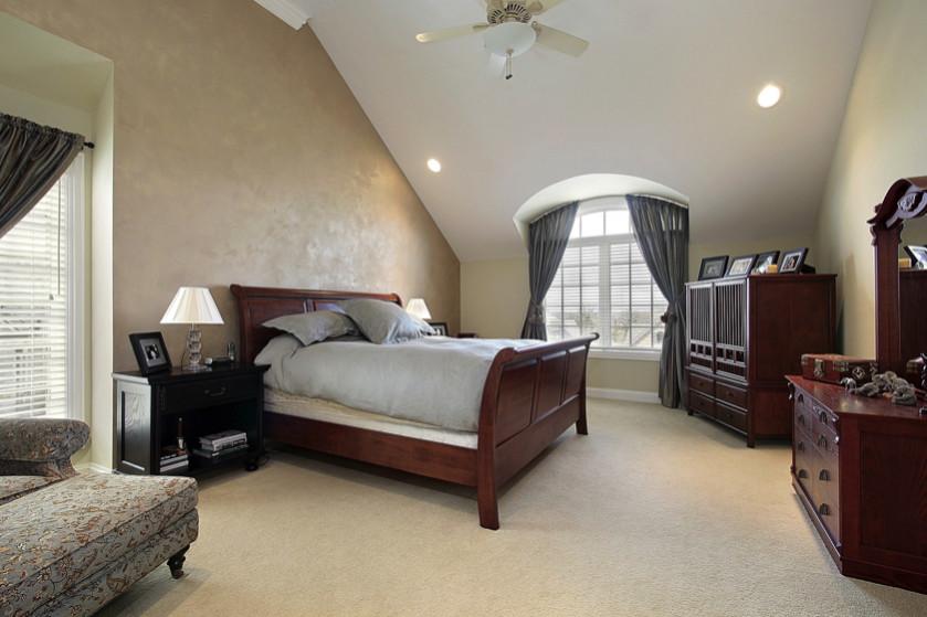 Tan Bedroom Bench