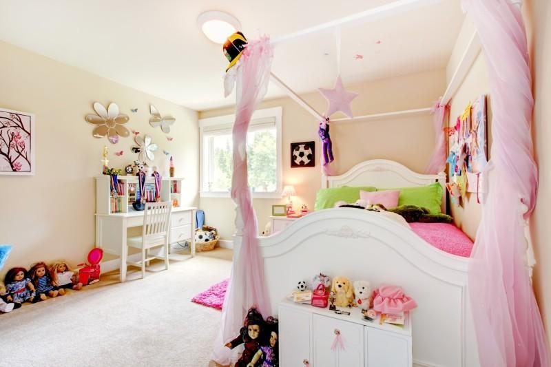 Really Gorgeous Girl\'s Bedroom Design Ideas