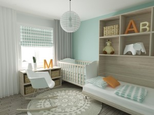 Adorable Baby Nursery Bedroom Design Ideas