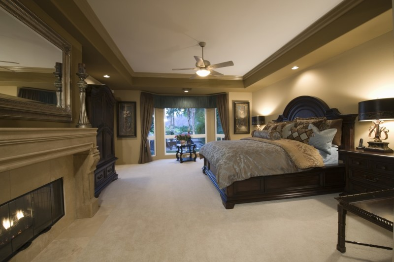 Beautiful Master Bedrooms With Fireplaces