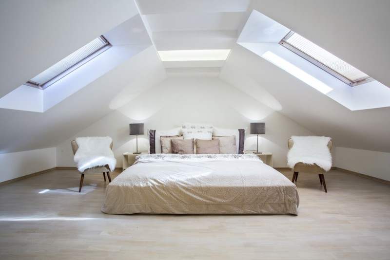 Loft Room Decorating Ideas For Unused Ceiling Attic Space
