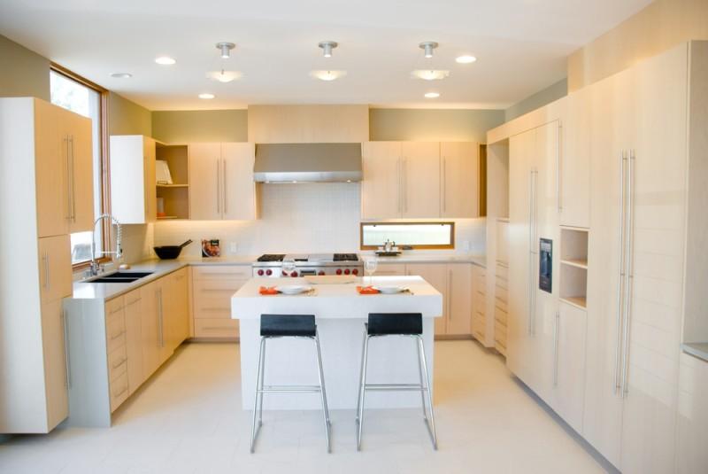 modern kitchen design with high end appliances and birch wood min e1433186523621 43 luxury modern - Birch Kitchen Design