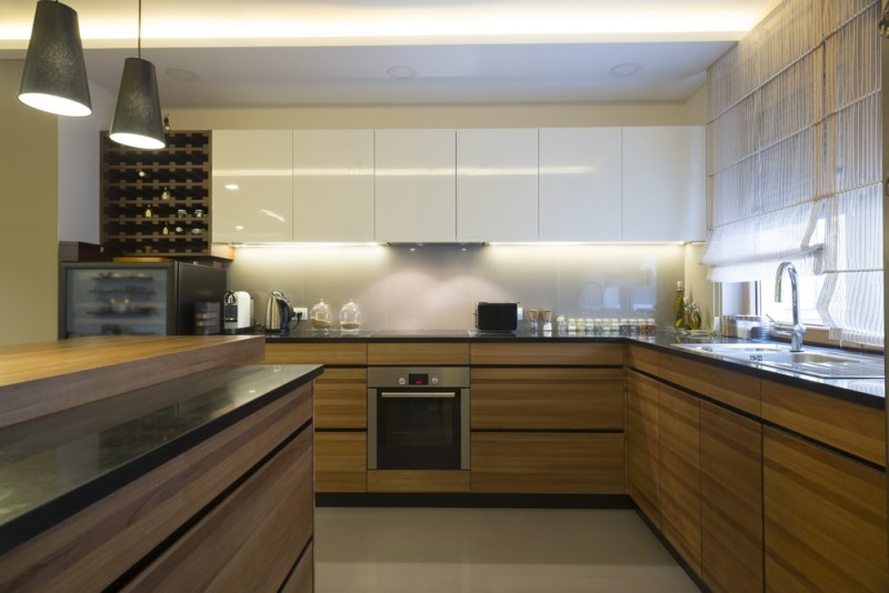 Top Of Cupboard Decor >> 43 Luxury Modern Kitchen Designs That You Will Love