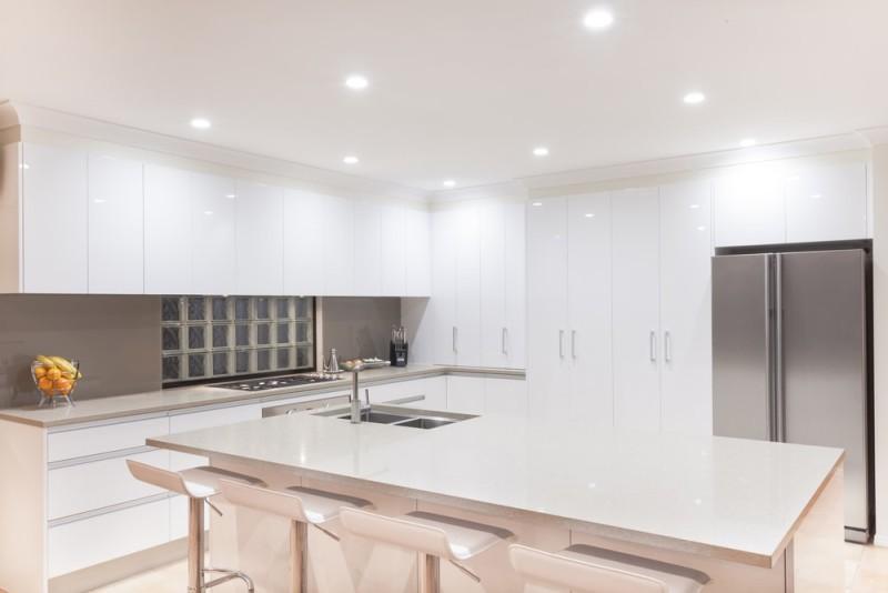 New modern minimalistic kitchen interior min e1433184190718 - 43 Luxury Modern Kitchen Designs That You Will Love