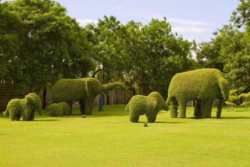 Outdoor Sculptures and Contemporary Garden Art