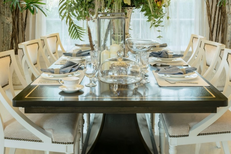 how to set up a dining room table collections