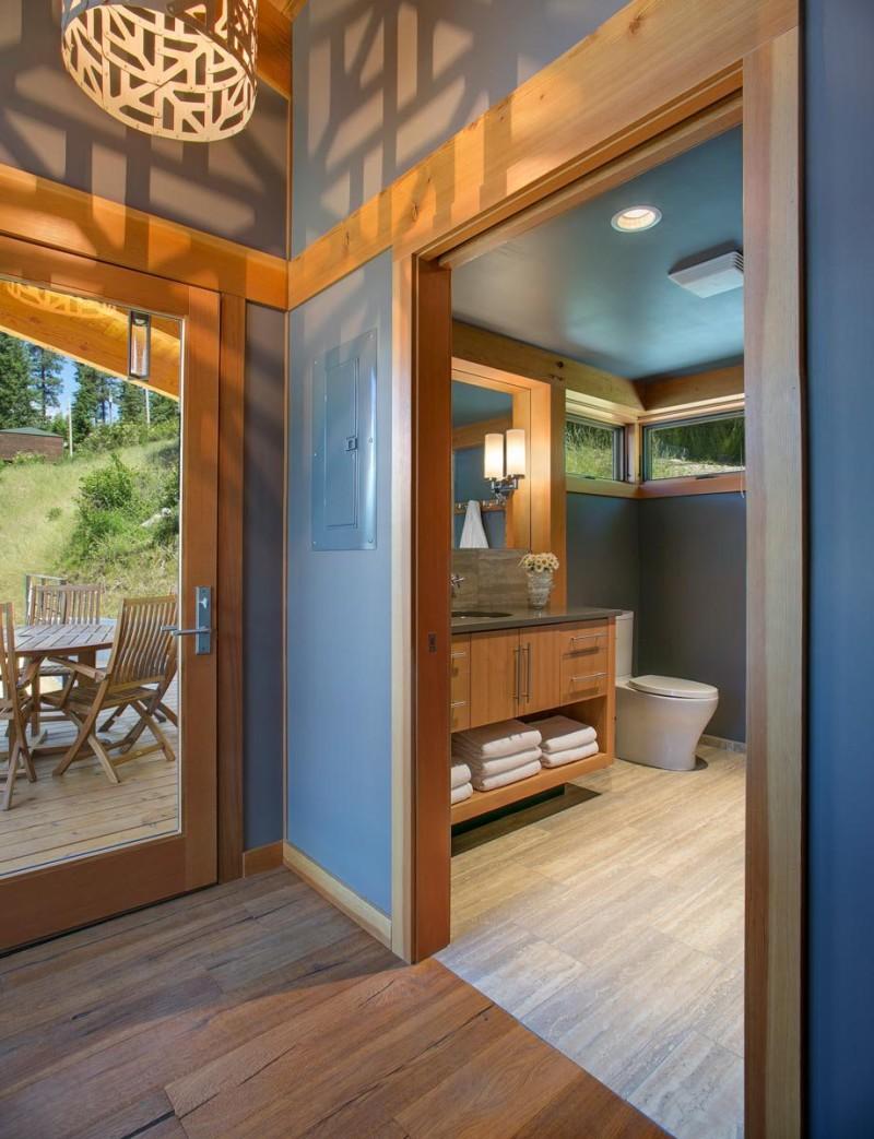 fabcab timbercab 550 bathroom1 via smallhousebliss min e1434944798911 - Unique 550 sq ft Small House Tiny House Design Concept by FabCab