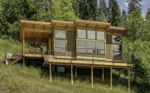 Unique 550 sq ft Small House Tiny House Design Concept by FabCab