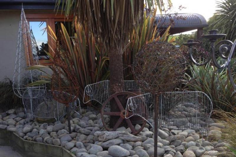 . Outdoor Sculptures and Contemporary Garden Art