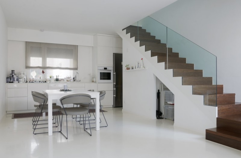 Modern home staircase designs for Minimalistischer einrichtungsstil