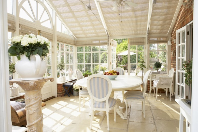 Interior Of Modern Conservatory min e1436697054504 - 15 Fantastic Modern Conservatories and Sunroom Makeover Ideas