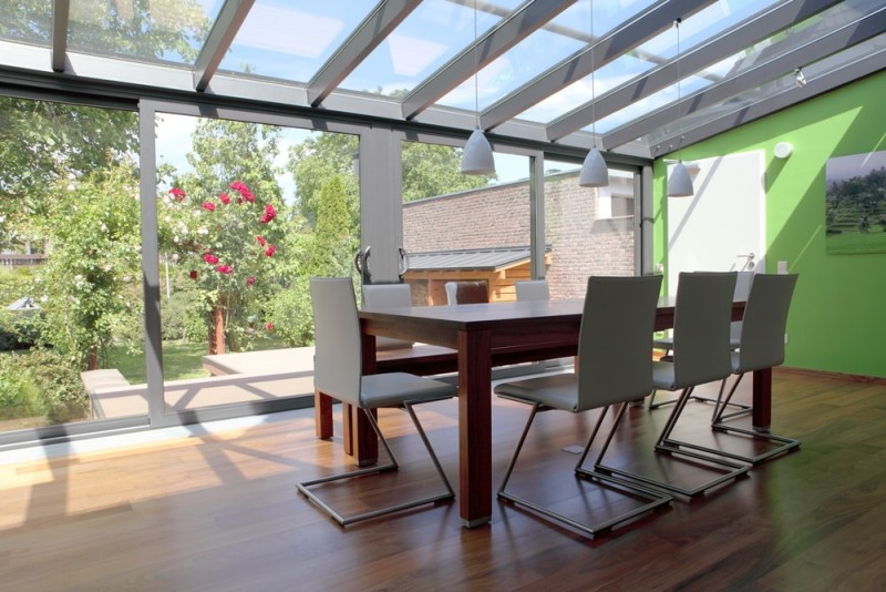 Modern conservatory min e1436697678151 - 15 Fantastic Modern Conservatories and Sunroom Makeover Ideas
