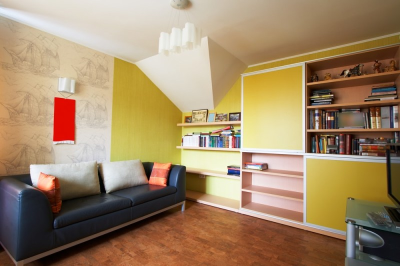Bookcase and bookshelf ideas for living rooms for Arrange your room online