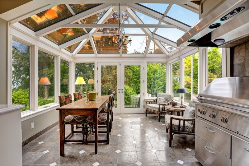 15 Fantastic Modern Conservatories Amp Sunroom Makeover Ideas