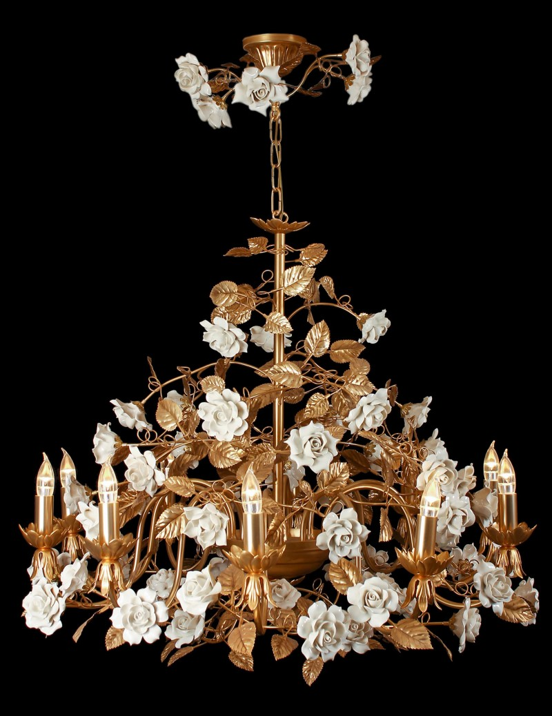 High end chandeliers and unique crystal chandeliers - Unique crystal chandeliers ...