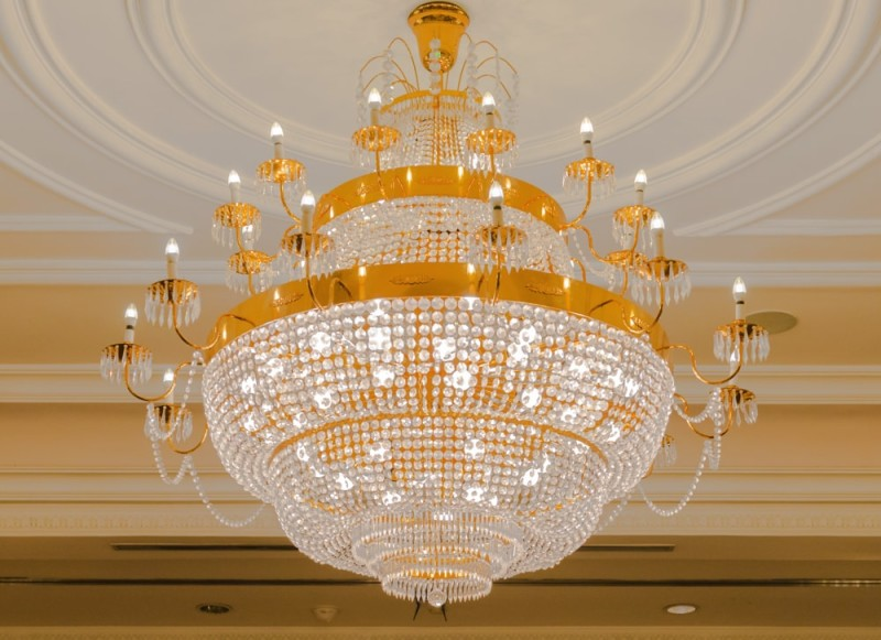 High end chandeliers and unique crystal chandeliers beautiful crystal and gold chandelier light aloadofball Choice Image