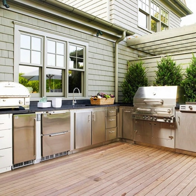 cool outdoor kitchen designs 10 source www.digsdigs.com min - Ideas for Outdoor Kitchens