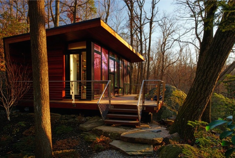 Tiny houses and shipping container homes for New source homes