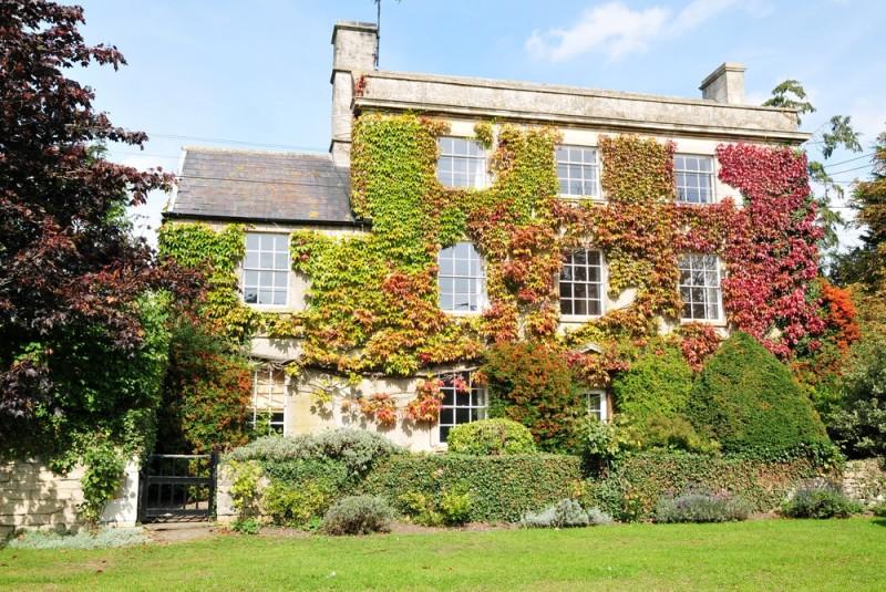 Beautiful detached Georgian era house and garden in rural England