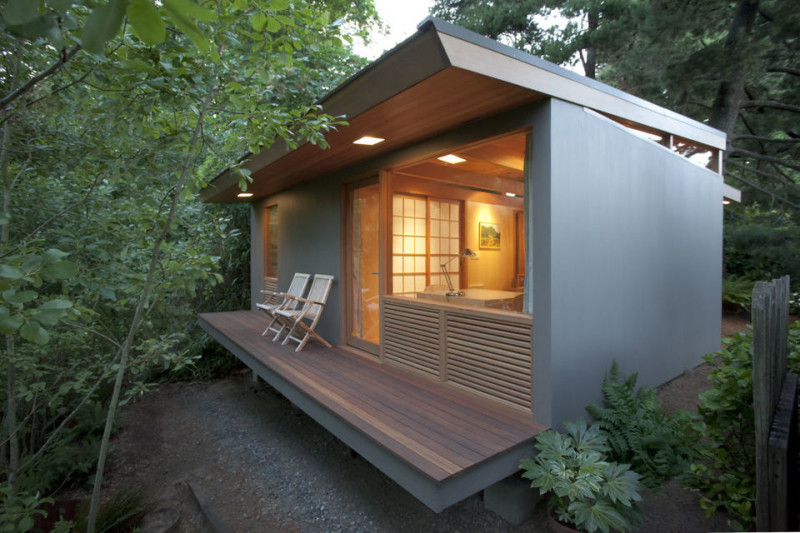 Pietro Belluschi Tiny House Famous Architect And Son Design Teahouses In  Portland. Source Www.