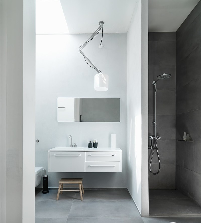 Bathroom Module and mirror from Vipp
