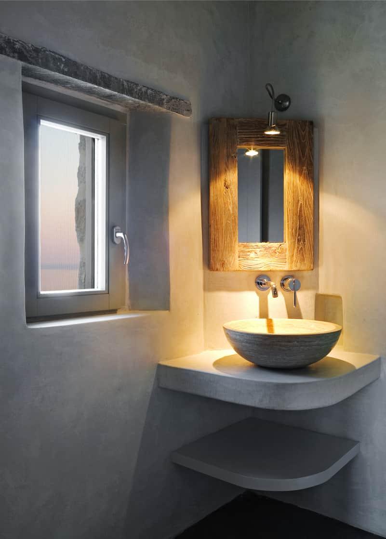 nstef1299 27D interior min - Eagles Nest, Chomatovouni, Serifos Island, Greece by Sinas Architects