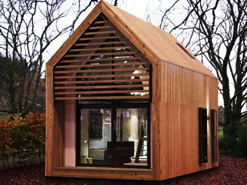 Tiny houses and shipping container homes for Modern cabin plans for sale