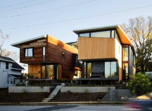556 Edenton Street House by The Raleigh Architecture Co