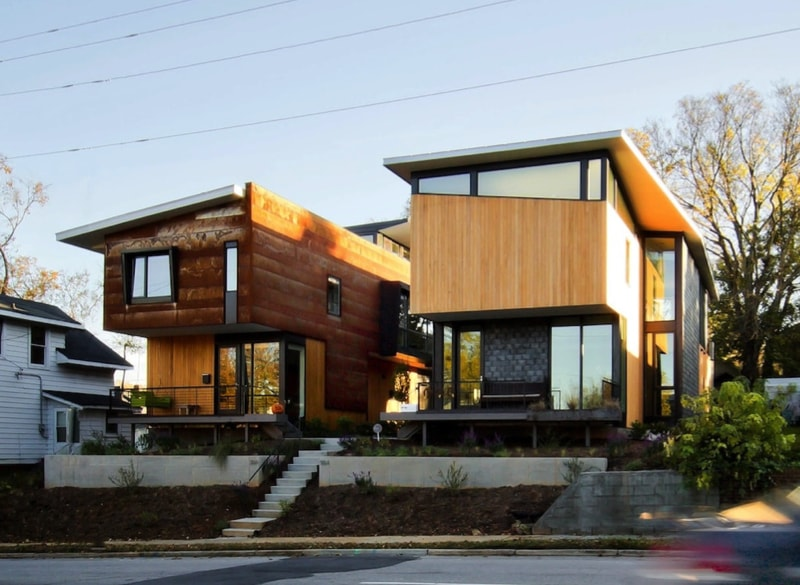 1.556 Streetview left min min - 556 Edenton Street House by The Raleigh Architecture Co