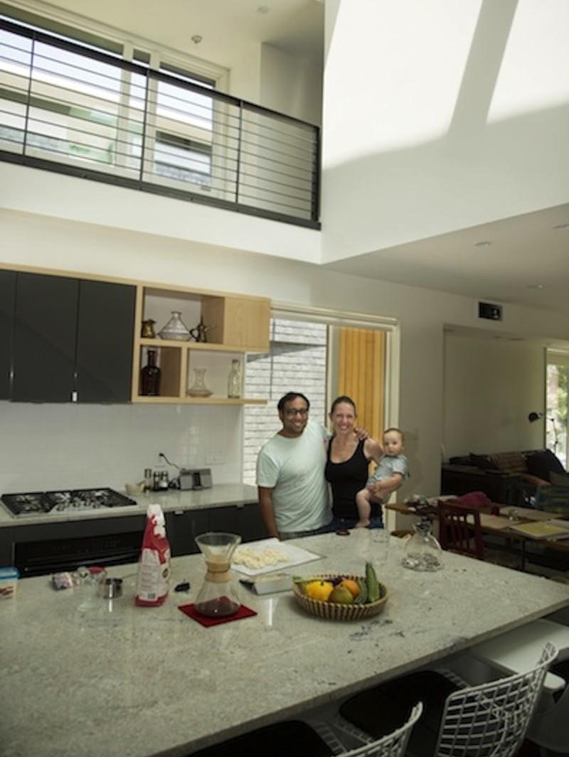 4.556 Kitchen min min e1442538244678 - 556 Edenton Street House by The Raleigh Architecture Co