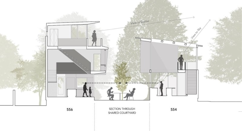 9.section with 554 sm min min e1442537728237 - 556 Edenton Street House by The Raleigh Architecture Co