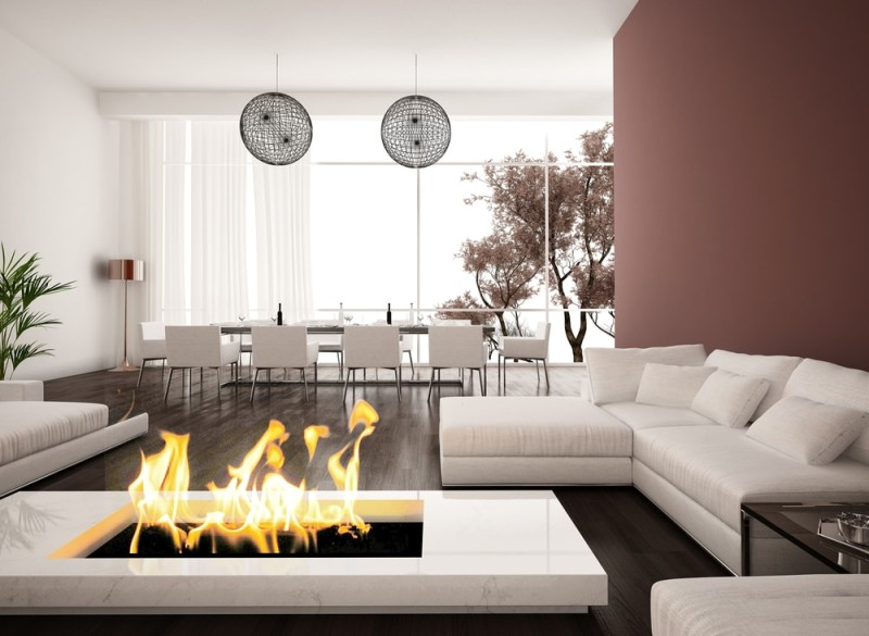 Living room ideas with a fireplace for Modern living room interior design 2015