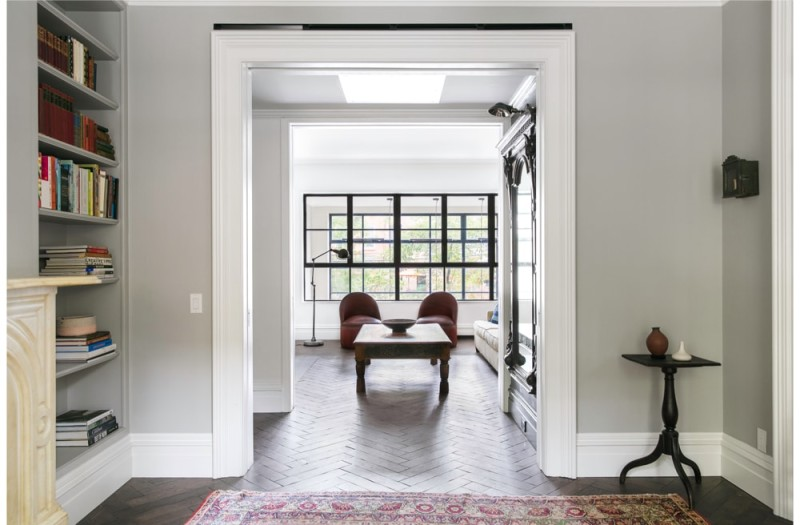 cumberland st townhouse 04 min e1441940923233 - Cumberland St Townhouse Project, Brooklyn, New York by Ensemble Architecture
