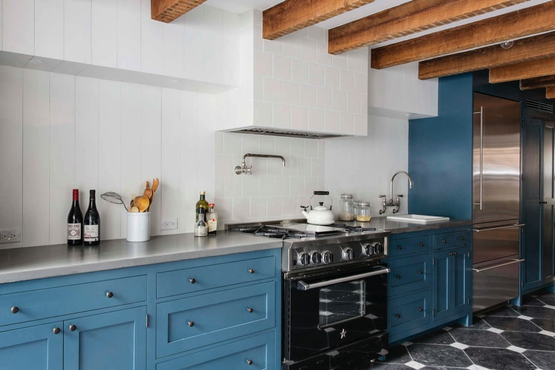 kitchen 3 min - Cumberland St Townhouse Project, Brooklyn, New York by Ensemble Architecture