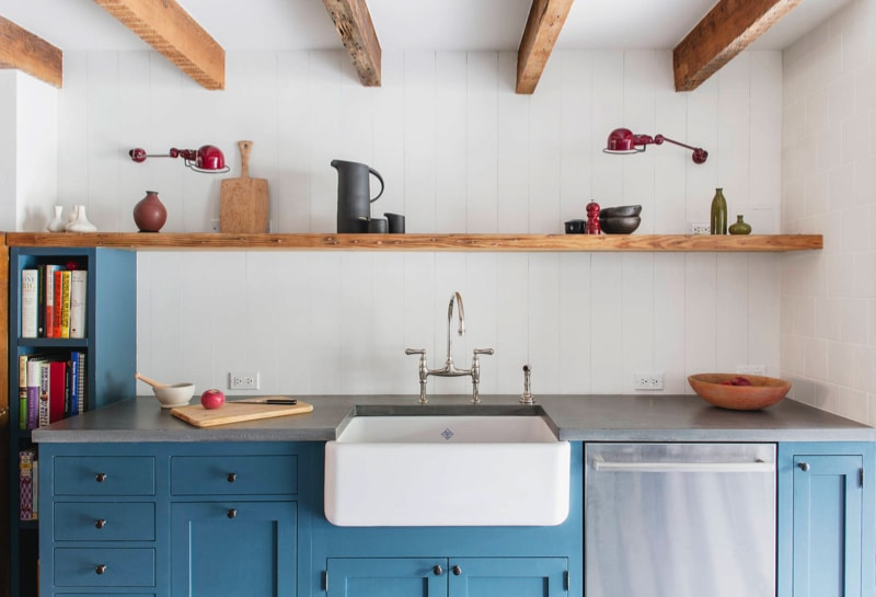 kitchen min - Cumberland St Townhouse Project, Brooklyn, New York by Ensemble Architecture