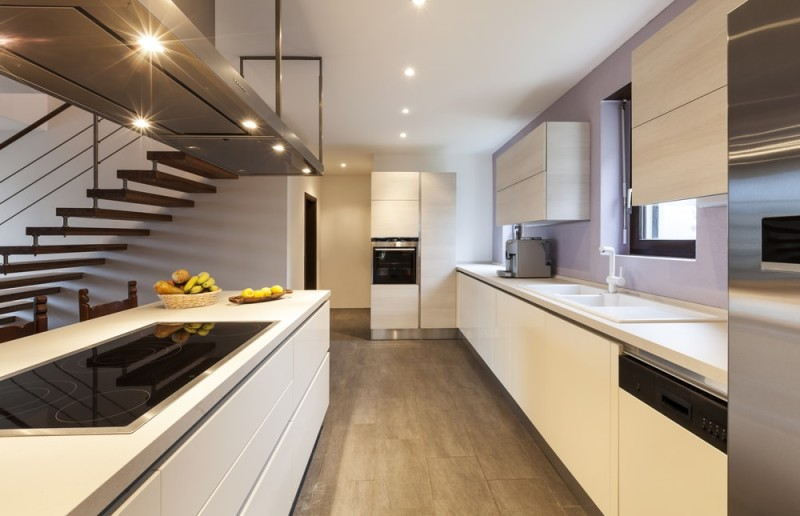 A beautiful white kitchen can provide a timeless stylish look for Nice modern kitchens