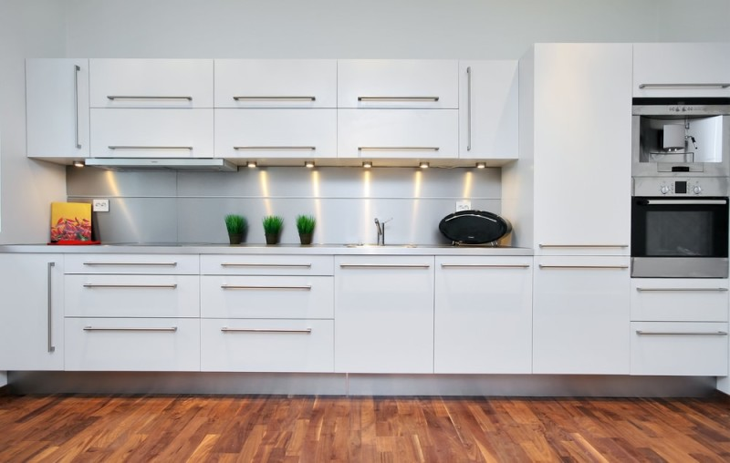 Contemporary Kitchen With White Cabinets a beautiful white kitchen can provide a timeless stylish look