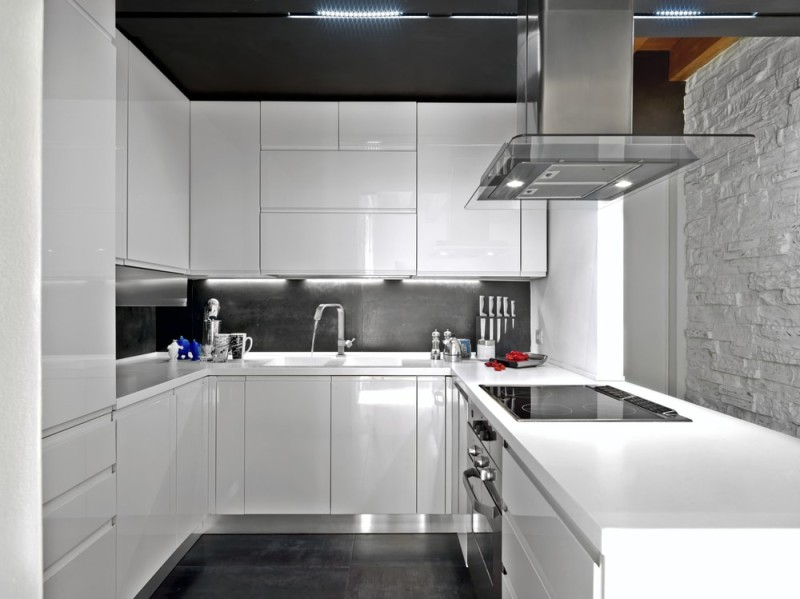 A beautiful white kitchen can provide a timeless stylish look - Stylish ikea kitchen cabinets for functionally attractive space ...