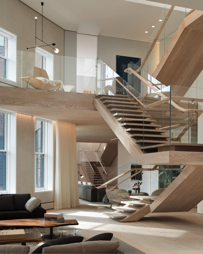Architecture SoHo Loft Interior Manhattan New York