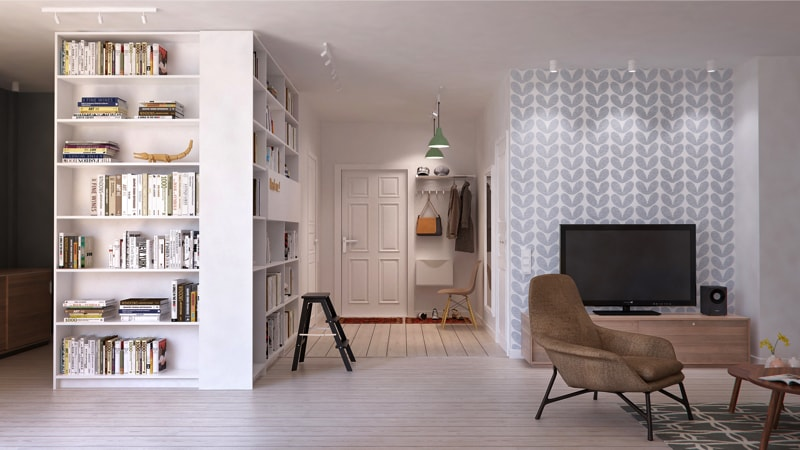 12  living room1 min - Interior DI Project in St Petersburg, Russia by INT2architecture
