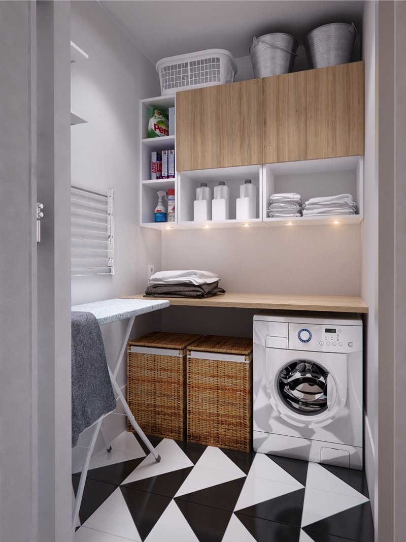 15 laundry1 min - Interior DI Project in St Petersburg, Russia by INT2architecture