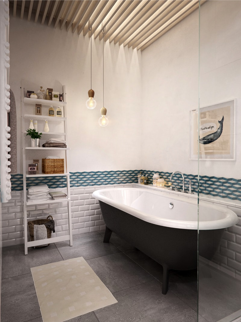 24 bathroom1 min - Interior DI Project in St Petersburg, Russia by INT2architecture