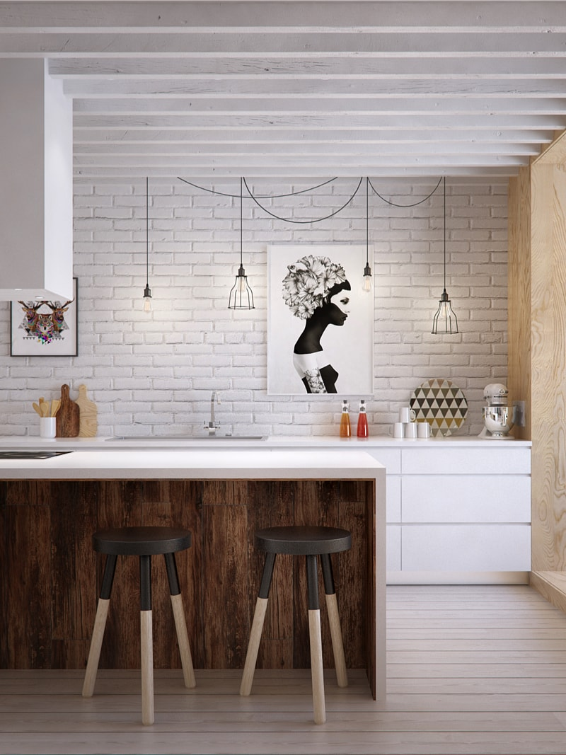 2 kitchen1 min - Interior DI Project in St Petersburg, Russia by INT2architecture