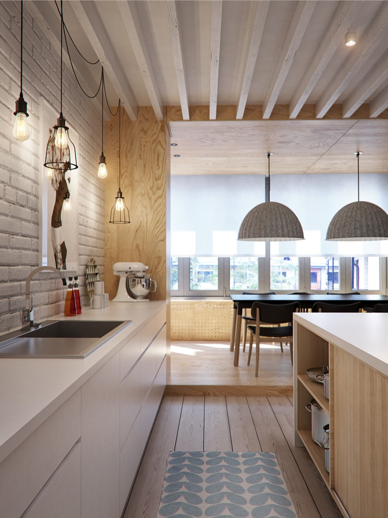 3 kitchen1 min - Interior DI Project in St Petersburg, Russia by INT2architecture