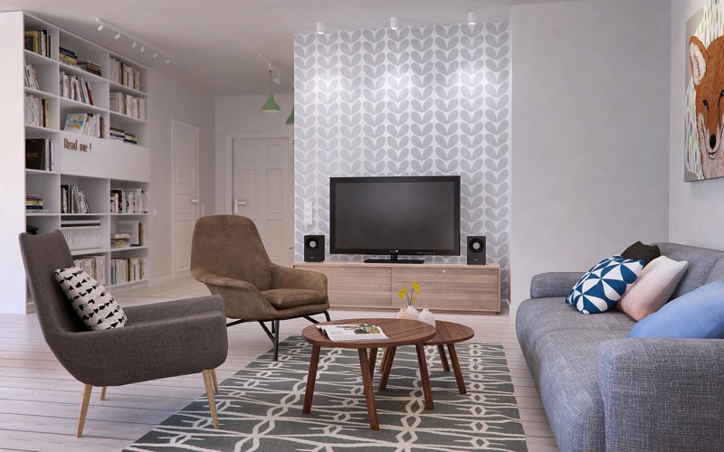 7 living room1 min - Interior DI Project in St Petersburg, Russia by INT2architecture